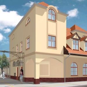 projekt budynku 10