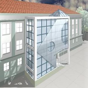 projekt budynku 3
